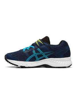Zapatilla Junior Asics Contend 5 PS Royal
