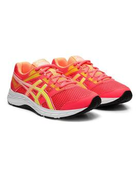Zapatilla Junior Asics Contend 5 GS Rosa