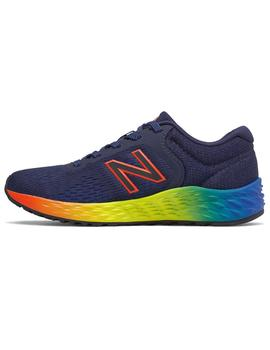 Zapatilla Junior New Balance YPARIFP2 Marino