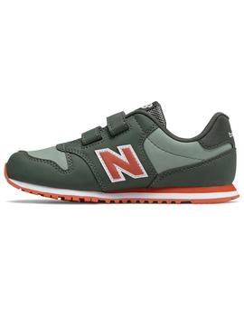 Zapatilla Junior New Balance YV500ED Verde