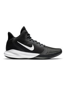 Zapatilla Basket Hombre Nike Precision III N/B