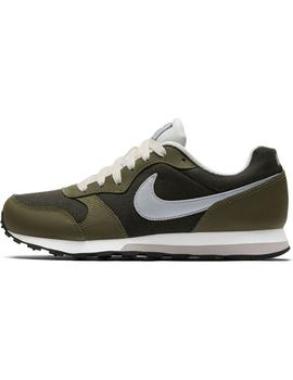 Zapatilla Junior Nike Md Runner Oliva