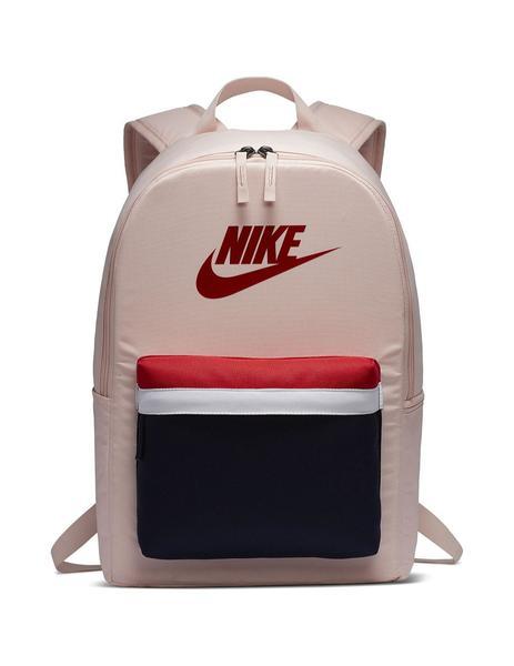 capacidad Mareo transatlántico  Mochila Unisex Nike Heritage Rosa