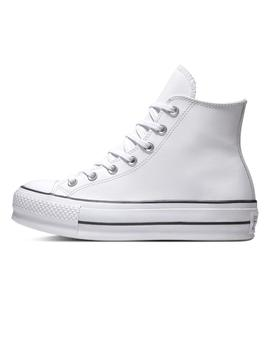 Zapatilla Mujer Converse All Star Lift Clean Blanco