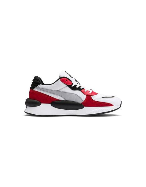 Zapatilla Chico Puma RS 9.8 Space Blanco-Rojo
