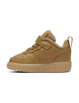 Zapatilla Baby Nike Court Borough Low 2 Camel