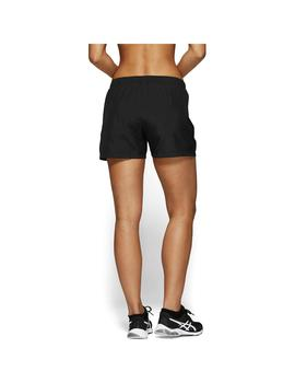Short Mujer Asics Silver 4In Negro