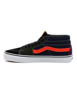Zapatilla Chico Vans Sk8-Mid Mix-Match