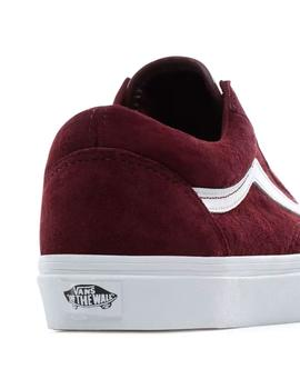 Zapatilla Chico Vans Old Skool Port Royale Granate