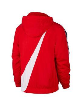 aplausos De todos modos Continuación  Cortavientos Hombre Nike Rojo