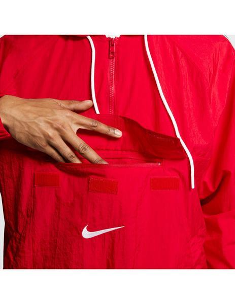 caballo de fuerza vitamina cortador  Cortavientos Hombre Nike Rojo