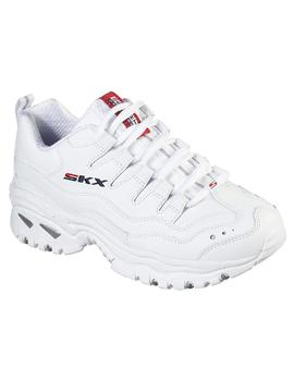 Zapatilla Mujer Skechers Energy Time Blanca