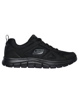 Zapatilla Hombre Skechers Track Negro