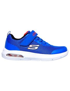 Zapatilla Junior Skechers Dyna-Air Azul