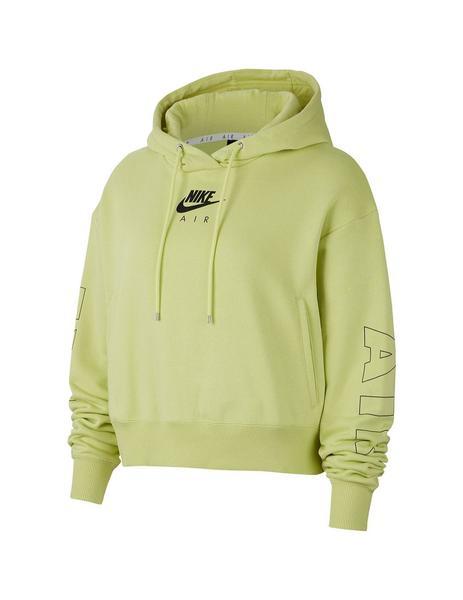 Altitud Sombra inquilino  Sudadera Mujer Nike Air Hoodie Verde