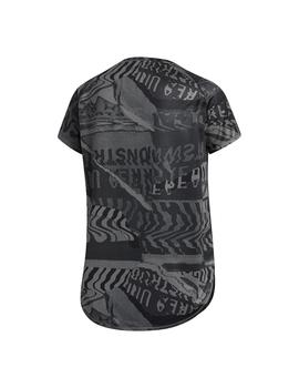Camiseta Mujer adidas Own The Run Gris