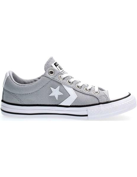 Zapatilla Junior Converse Star Player Gris
