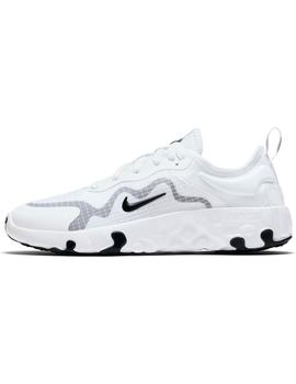 Zapatilla Junior Nike Renew Lucent Blanco
